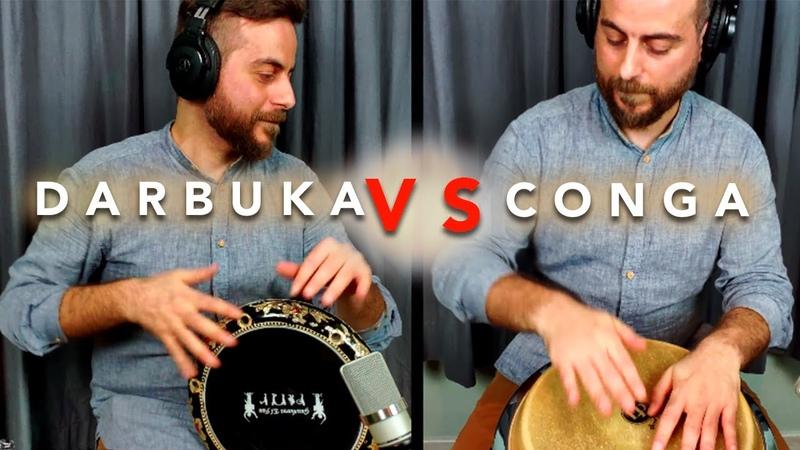 DARBUKA CONGA SOLO Rumba Cubana Omar Kattan