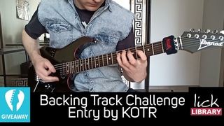 """Steve Guitar & Lick Library """"Backing Track Challenge"""" Entry by Kotr"""