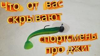 Крылатый джиг с подвыподвертом! Сделай себе и без рыбы не уйдешь. ВОТ почему раньше не клевало.