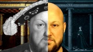 Портреты Генриха VIII и его шести жен, ожившие при помощи нейросетей