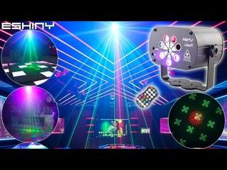 Цветомузыкальный лазерный проектор ESHINY R9N6 Color music laser projector