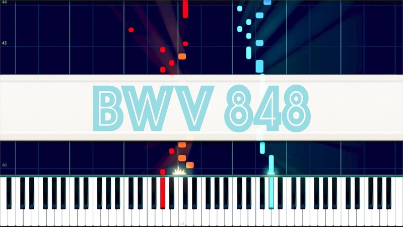 Prelude and Fugue in C sharp major WTC I BWV 848 J S Bach