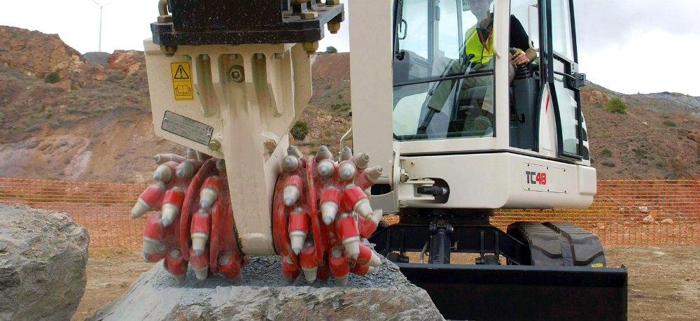 Навесные фрезы Rockwheel эффективны в строительстве тоннелей и горной промышленности