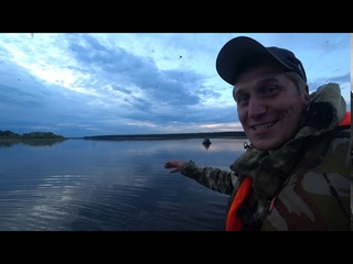 Обычная рыбалка на Рыбинском водохранилище. Рыбалка на спиннинг в постоянную смену погоды. Рыбалочка