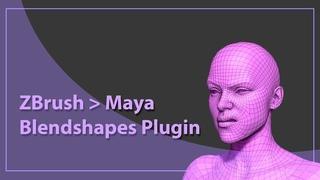 ZBrush Maya Blendshapes Plugin