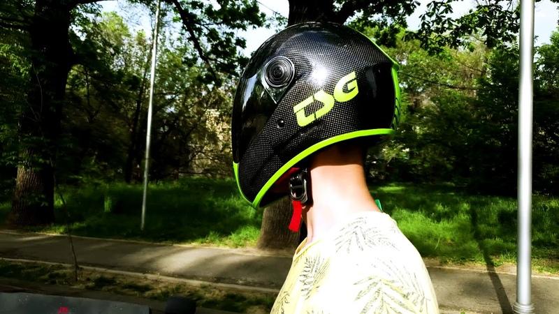 видеообзор шлема tsg pass pro carbon