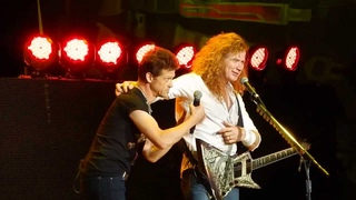 "Megadeth ""Phantom Lord"" with Jason Newsted Toronto August 11, 2013 Molson Amphitheatre"
