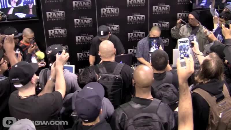 NAMM 2013 DJ Babu D Styles of Beat Junkies Live Perfomance at Rane Booth idjnow F9a1CvJ5Ct4