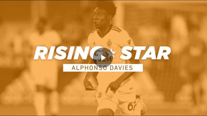 Rising Star Alphonso Davies