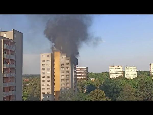Tragický požár v Bohumíně sobota 8 srpna 2020