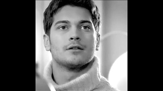 Cagatay Ulusoy in role Emir from Feriha-  Black and White