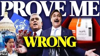 $5 MILLION reward to anyone who can prove election data invalid; House Dems BLOCK virus origins bill