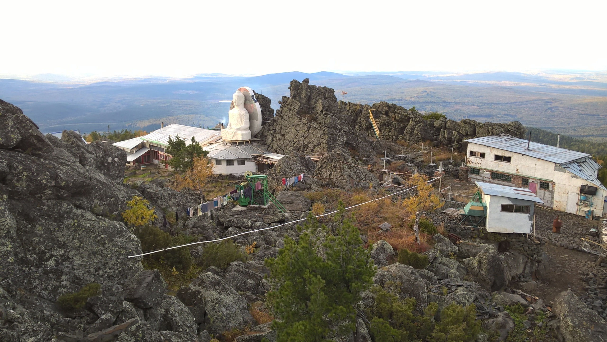 Баня на вершине Качканар