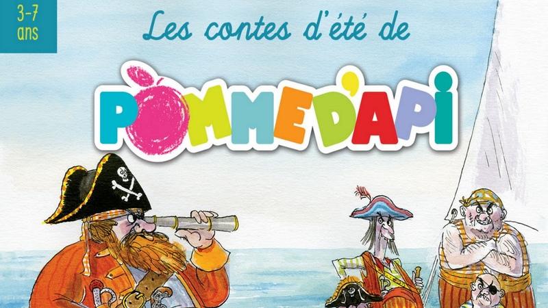 Le voyage en train de Léon et Roncho - Contes d'été de Pomme d'Api ( 3 à 7 ans)