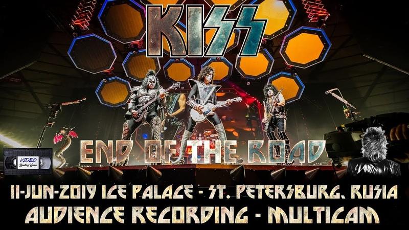 KISS Ice Palace St Petersburg Rusia 11 jun 2019