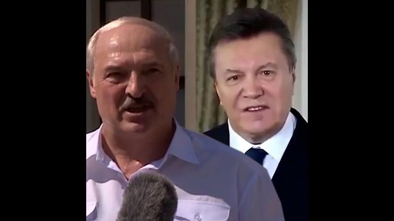 Остановитесь. Мем Януковича у виконанні тріо президентів