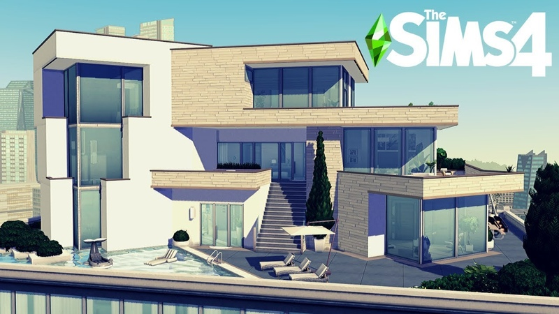 Luxury Penthouse NOCC The Sims 4 Stop Motion