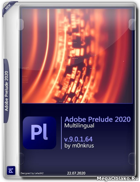 Adobe Prelude 2020 v.9.0.1.64 Multilingual by m0nkrus (2020)