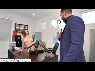 Lilian Stone (Drains Her Boss Balls To Help Relieve His Stress) [All Sex, Blowjob, Cum On Mouth, Facial]