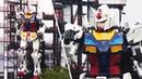Life Size 'Gundam' Robot Makes Debut in Japan