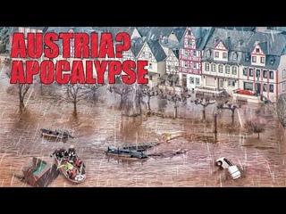 Lord help, AUSTRIA under water   Apocalypse 2021