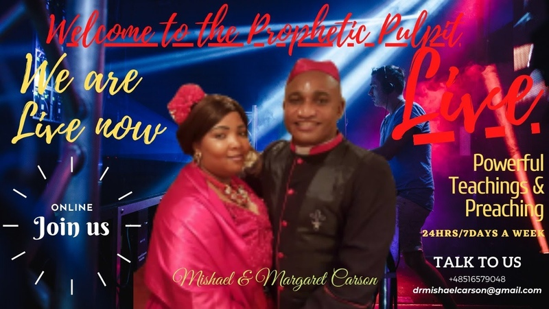 Dr. Mishael Carson Live from Rumia, Poland Understanding your position in Christ - Part 2