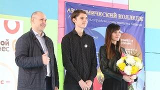 Олимпийский визит: Елена Исинбаева провела мастер-класс для юных волгоградцев в «Орленке»
