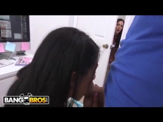 Young Veronica Rodriguez Gets Caught Fooling Around With Her BF By Cougar Step Mom