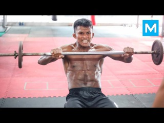 Buakaw Banchamek Muay Thai Training   Muscle Madness