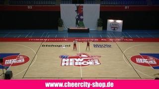 Daisy Илья и Дарья дуэт 3 место на чемпионате Европы по чирлидингу